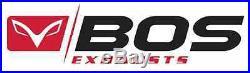 Silencieux Bos Desert Fox Inox Honda Crf 1000 L Africa Twin 2016- Ref 1640210sm