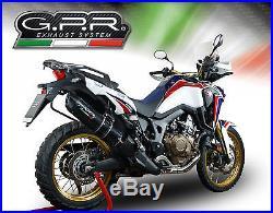 Silencieux Gpr Furore Look Carbone Honda Crf 1000 L Africa Twin 2015