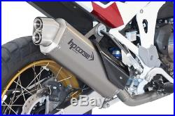 SILENCIEUX HP CORSE 4-TRACK R SATIN euro5 HONDA AFRICA TWIN 1100 2020
