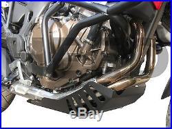 Sabot moteur Heed HONDA CRF 1000 AFRICA TWIN acier noir