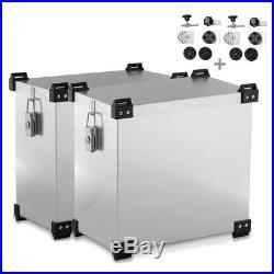 Sacoches aluminium + supports 16mm Honda Africa Twin CRF 1000 L/XRV 650/750