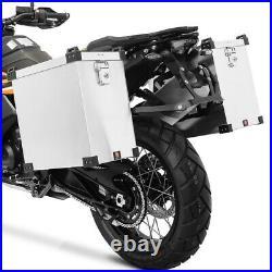 Sacoches aluminium + supports pour Honda Africa Twin XRV 750 / 650
