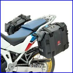 Sacoches latérales + plaque pour Honda Africa Twin CRF 1000 L XA32