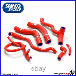 Samco kit durites de radiateur rouge Honda Africa Twin XRV750 RD04 L/M/N 1992