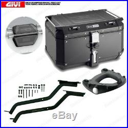 Set Givi Chassis + Coffre Outback OBKN58B Honda Africa Twin 750 (9602)