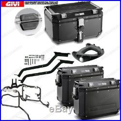 Set Givi Top Case Obk58b Et Cas Obk37b Honda Crf1000l Africa Twin (16)