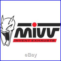 Silencieux Homologue Oval H. 024. Le MIVV Honda Xrv 750 Africa Twin 1998 98