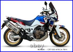 Silencieux IXIL Mxt Inox Honda Crf 1000 L Africa Twin 2016/2017/2018/2019