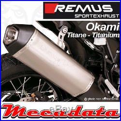 Slip-On Exhaust Remus EEC Titanium Okami Honda CRF 1000 L Africa Twin 2016+