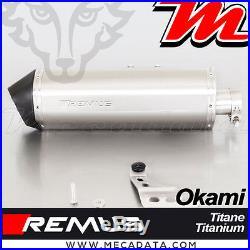 Slip-On Exhaust Remus EEC Titanium Okami Honda CRF 1000 L Africa Twin 2017