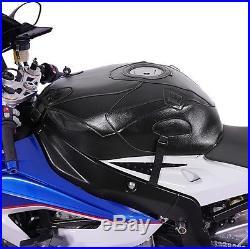 Tankschutzhaube Bagster Honda Africa Twin XRV 750 1997 blau/havane/weiss/schwarz
