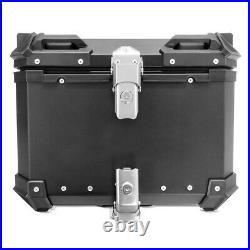 Top case aluminium pour Honda Africa Twin XRV 750 Bagtecs XB55 noir