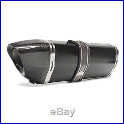Tuyau D'échappement Perfect Titane Black Honda Africa Twin Crf 1000 L Exhaust