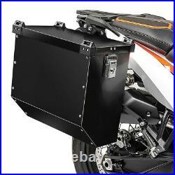 Valise laterale alu pour Honda Africa Twin 1100 Atlas 41L noir