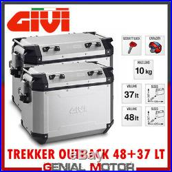 Valises Laterales Givi Trekker Outback 48+37 Honda Africa Twin 1000 2018 18